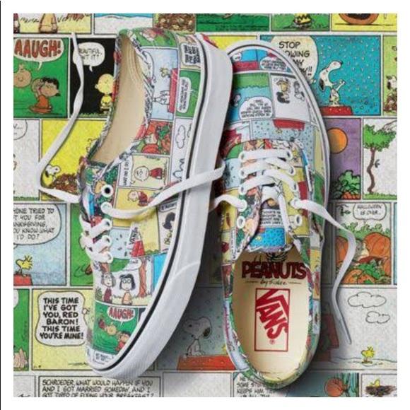 e7e66952b0 Vans peanuts kids shoes
